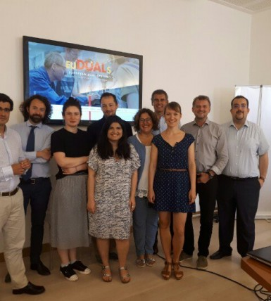 EU-DualS Project Partners Meet in Rome to Plan the Next Steps